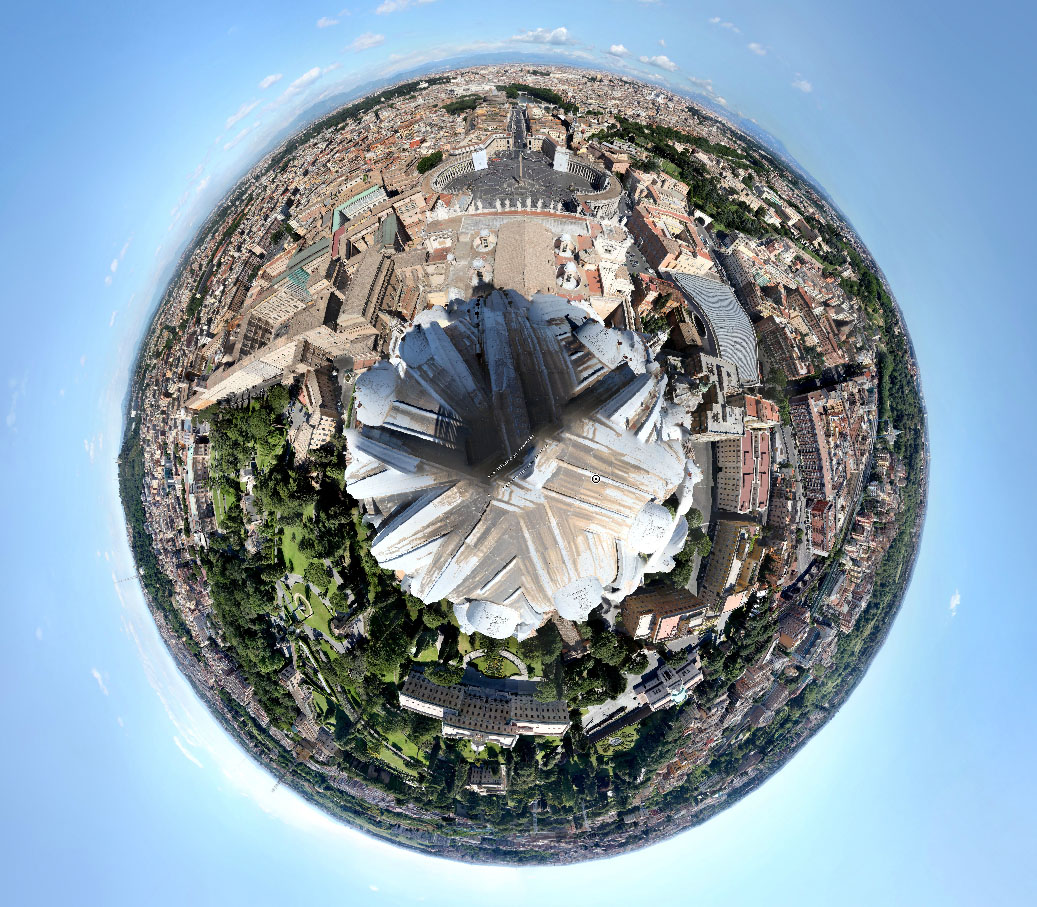 How To City Buildings On The Round Earth Photoshop
